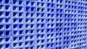 Caixas azuis empilhadas foto de stock royalty free