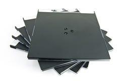 Caixas CD Fotografia de Stock Royalty Free