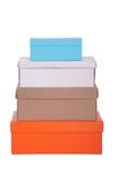 Caixas coloridas Foto de Stock