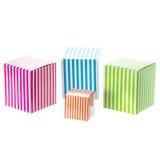 Caixas coloridas Imagem de Stock