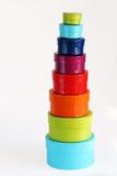 Caixas coloridas Imagens de Stock