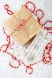 Caixas com presentes do Natal Foto de Stock Royalty Free
