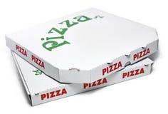 Caixas da pizza Foto de Stock Royalty Free