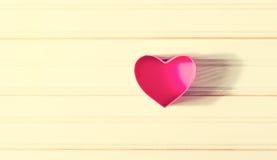 Caixas dadas forma coração do dia do ` s do Valentim Foto de Stock
