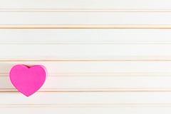 Caixas dadas forma coração do dia do ` s do Valentim Imagens de Stock Royalty Free