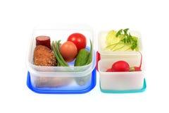 Caixas de almoço. Imagem de Stock Royalty Free