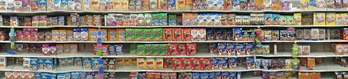 Caixas de cereal imagens de stock royalty free