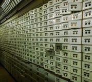 Caixas de depósito bancário Foto de Stock