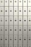 Caixas de depósito da segurança Imagem de Stock
