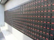 Caixas de estação de correios Foto de Stock Royalty Free