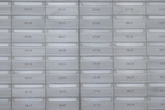 Caixas de letra Fotografia de Stock Royalty Free