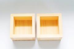 Caixas de madeira para artigos pequenos Imagens de Stock