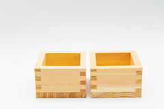 Caixas de madeira para artigos pequenos Foto de Stock Royalty Free