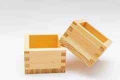 Caixas de madeira para artigos pequenos Imagens de Stock Royalty Free