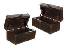 Caixas de madeira velhas Imagens de Stock