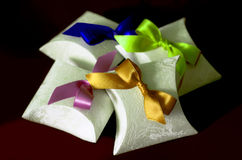 Caixas de papel Imagens de Stock