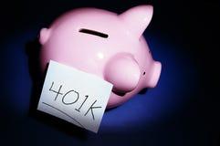 Caixas de pensões Foto de Stock Royalty Free