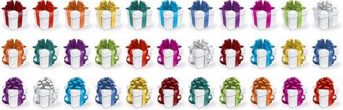 Caixas de presente Imagem de Stock Royalty Free