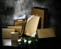 Caixas de presente Fotos de Stock