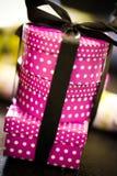 Caixas de presente cor-de-rosa Foto de Stock Royalty Free