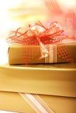 Caixas de presentes Foto de Stock