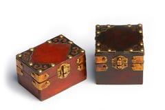 Caixas de tesouro Foto de Stock