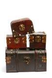 Caixas de tesouro Fotografia de Stock Royalty Free