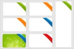 Caixas de texto Foto de Stock