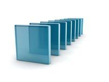 Caixas de vidro Imagens de Stock Royalty Free