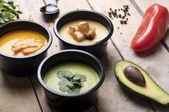 Caixas do alimento de Eco com nutrição apropriada, dieta equilibrada para perder o peso imagem de stock