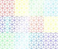 Caixas do arco-íris imagem de stock royalty free