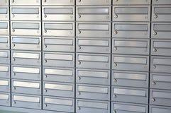 Caixas do correio Fotografia de Stock Royalty Free
