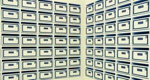 Caixas do porte postal Fotografia de Stock Royalty Free