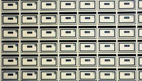 Caixas do porte postal Fotos de Stock Royalty Free