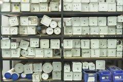Caixas do Util Imagem de Stock