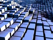 Caixas e fundo dos quadrados Fotografia de Stock Royalty Free