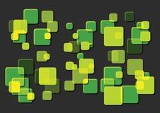 Caixas hued de Greenn Fotos de Stock