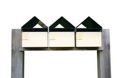 Caixas isoladas do correio Imagem de Stock Royalty Free