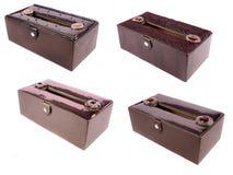 Caixas luxuosos do tecido Imagem de Stock Royalty Free