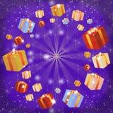 Caixas Multi-coloured Imagem de Stock