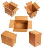 Caixas onduladas Imagem de Stock Royalty Free