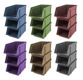 Caixas para ferramentas Imagem de Stock
