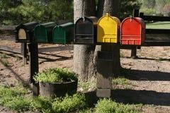 Caixas postais imagens de stock royalty free
