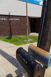 Caixas postais de oxidação em Centrailia Fotos de Stock Royalty Free