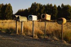 Caixas postais engraçadas Fotografia de Stock