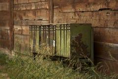 Caixas postais oxidadas Foto de Stock Royalty Free
