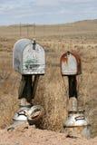 Caixas postais velhas Fotos de Stock Royalty Free