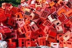 Caixas vermelhas Imagens de Stock