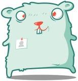 Caixeiro do hamster aqui a ajudar! ilustração stock