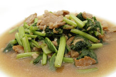 Caixin choy sum Royalty Free Stock Photography